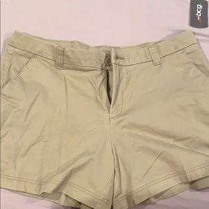 BCG brand new khaki shorts